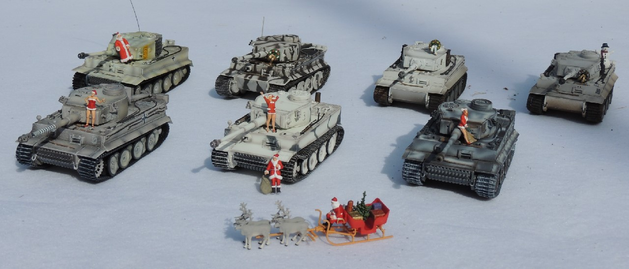 1/72 AFV Altaya Christmas Dragon Easy Model German Hummel Nashorn Preiser Tanks Tiger War Master Winter