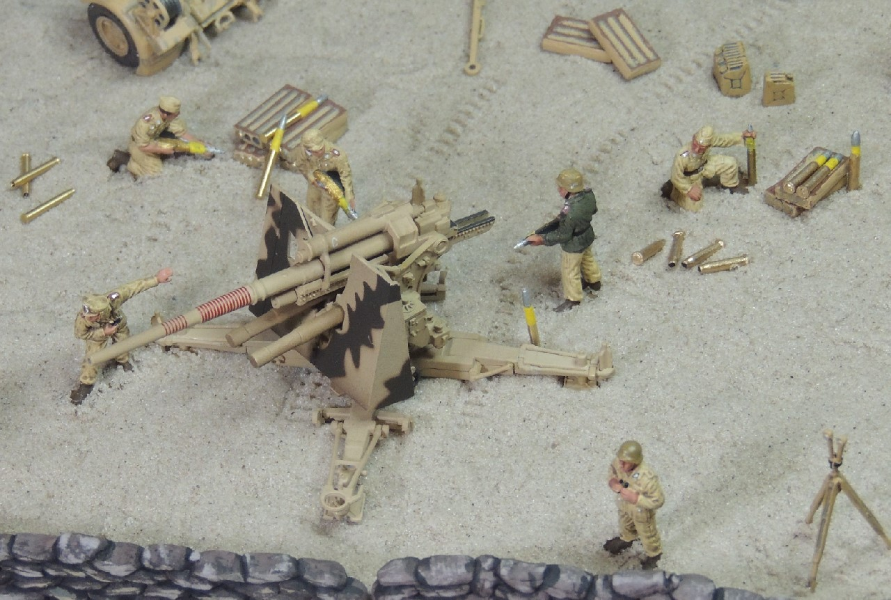 Desert War | WWII in 1/72 Scale