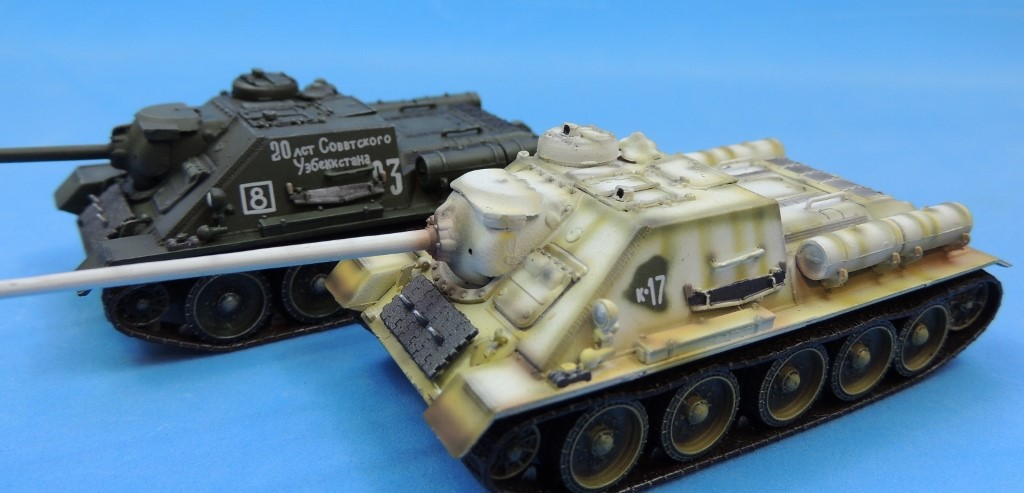 1/72, 60305, Belorussia, Dragon, Eastern Front, Hungary, Russia, Soviet, SU-100, Tank Destroyer, Tanks, Uzbekistan, K-17