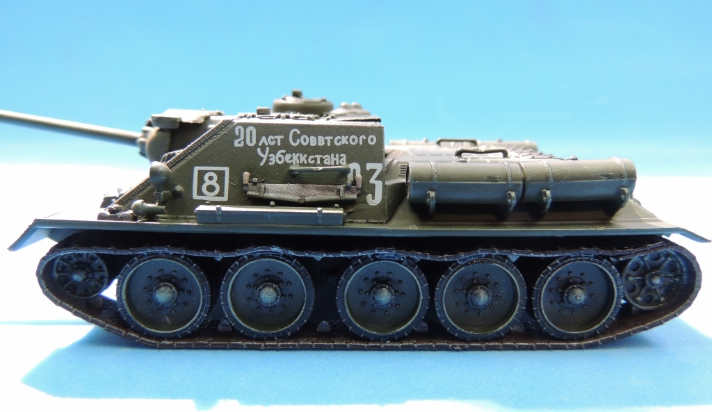 1/72, 60305, Belorussia, Dragon, Eastern Front, Hungary, Russia, Soviet, SU-100, Tank Destroyer, Tanks, Uzbekistan