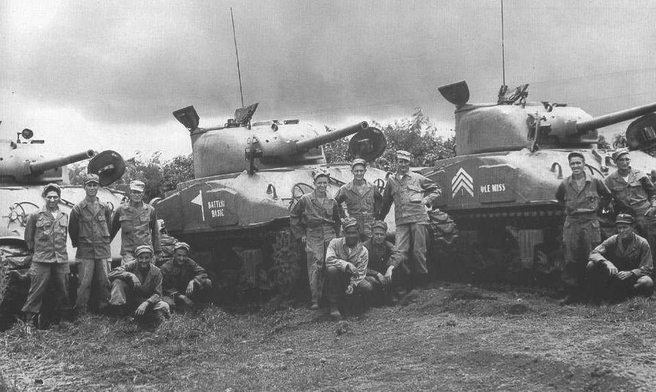44th Tank Battalion, AFV, Battle of Manila, Battlin Basic, Internment, Japanese, Liberation, Manila, Pacific War, Philippines, Santo Tomas, Sherman, Tanks, U.S. Army, Yamashita