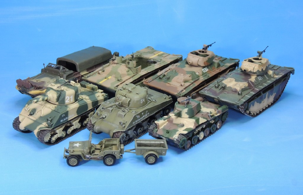 Operation Detachment, Part 2: Prebuilt 1/72 Scale Models for the Battle of Iwo Jima | WWII in 1 ...