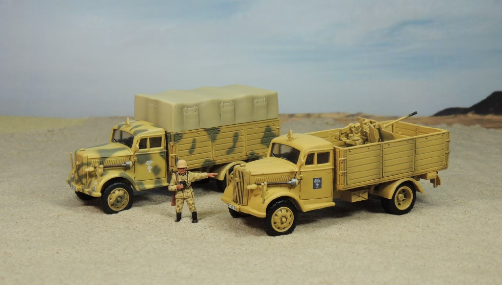 Best Used Truck >> Softskins of the Afrika Korps in 1/72 Scale | WWII in 1/72 Scale