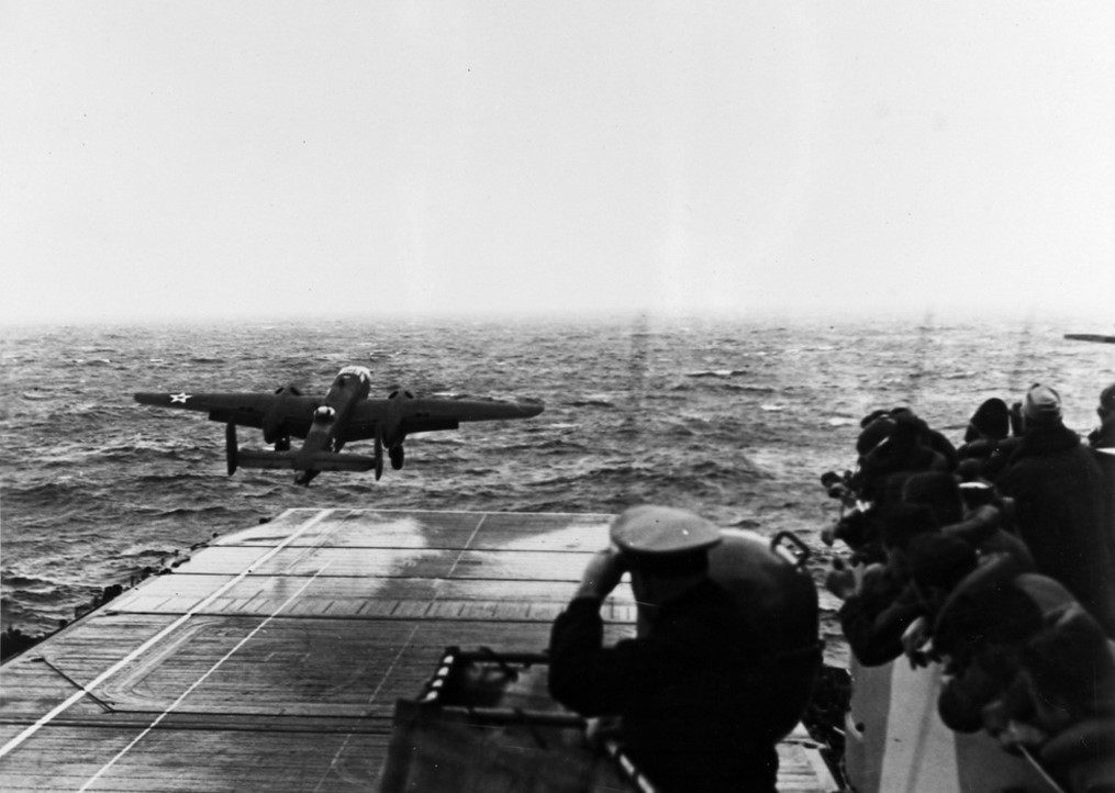 Doolittle, Halsey, B-25, Mitchell, Tokyo, USS Hornet, USS Enterprise, Japan, Pearl Harbor, Japanese