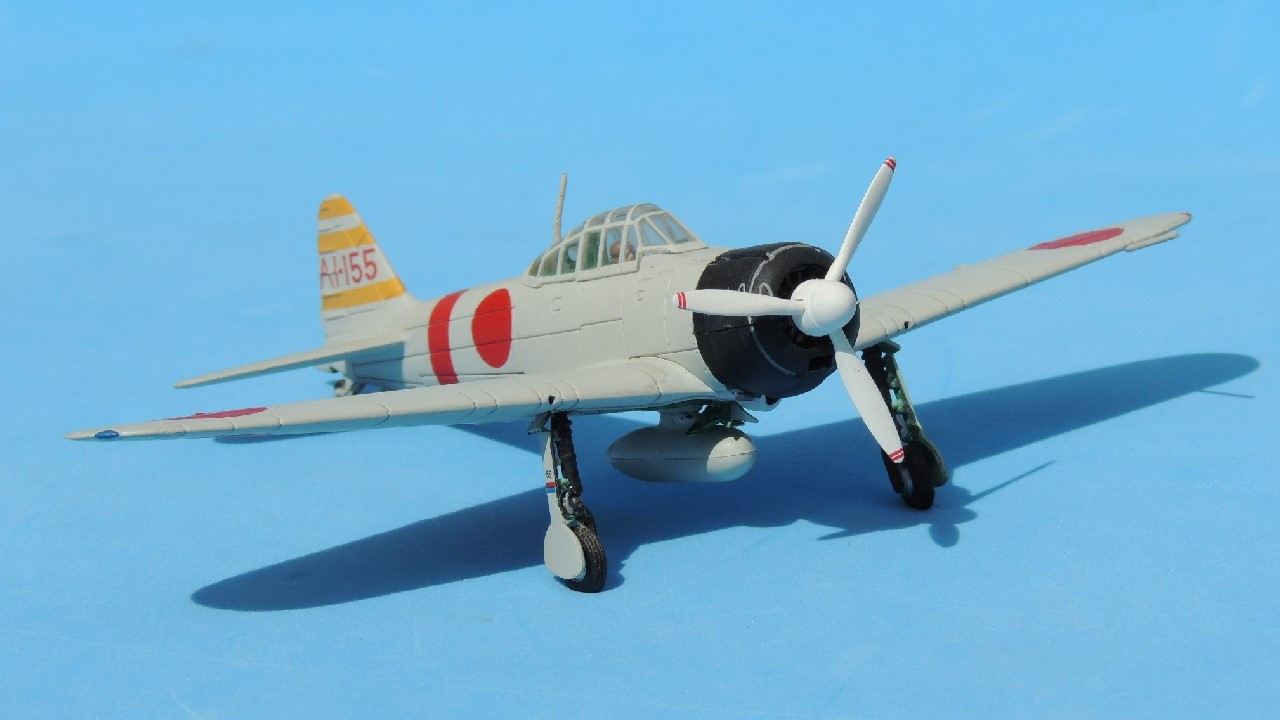 1/72, 85032, A6M, AI-155, Akagi, FOV, Forces of Valor, IJN, Itaya, Japanese Navy, Pearl Harbor, Zeke, Zero